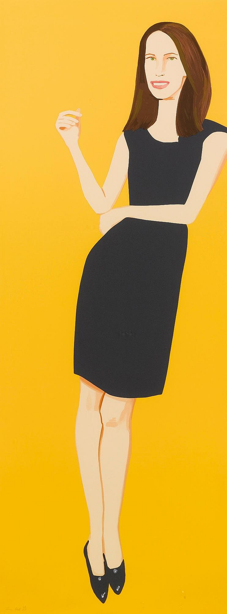 ALEX KATZ | Black Dress