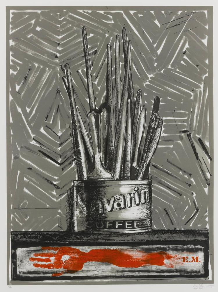 JASPER JOHNS | Savarin (ULAE 220)