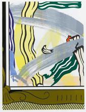 ROY LICHTENSTEIN | Painting in Gold Frame (Corlett 206)