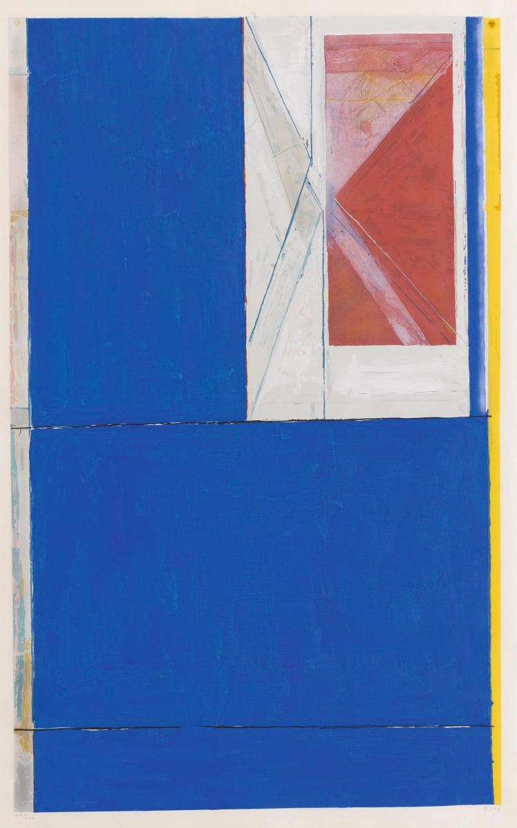 RICHARD DIEBENKORN | Blue