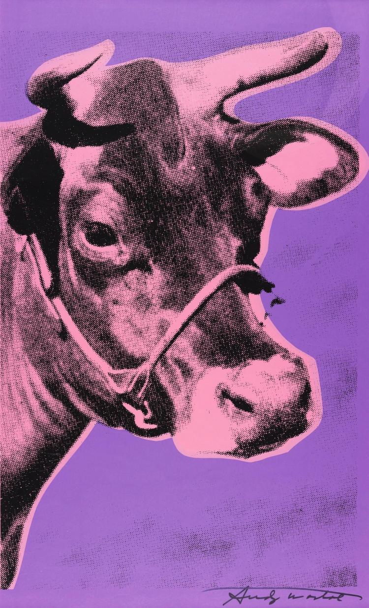 ANDY WARHOL | Cow (Feldman & Schellmann II.12A)
