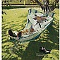 Norman Rockwell 1894-1978 , Home on Leave (Sailor in Hammock), Norman Perceval Rockwell, Click for value