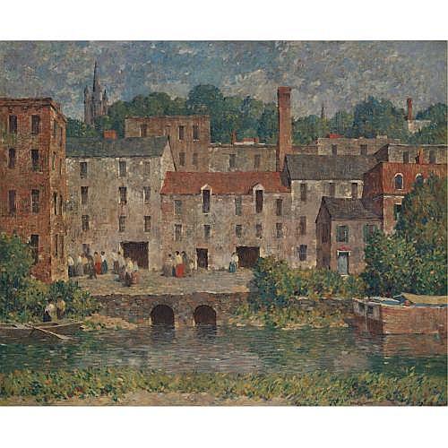 Robert Spencer 1879-1931 , Mill Valley