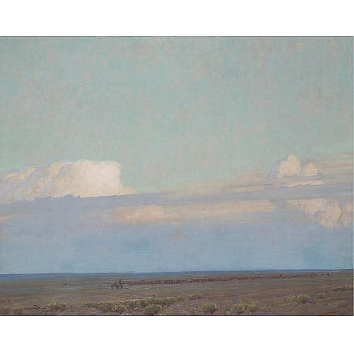 Maynard Dixon 1875-1946 , The Prairie