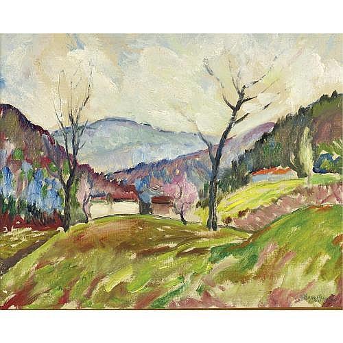 u - J. Barry Greene 1895-1966 , Early Spring, Chichester