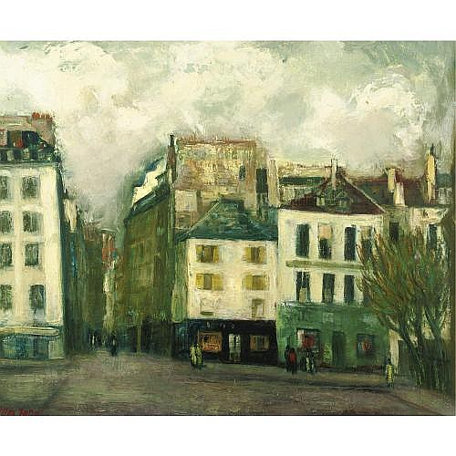 Max Band 1900-1974 , View in Paris