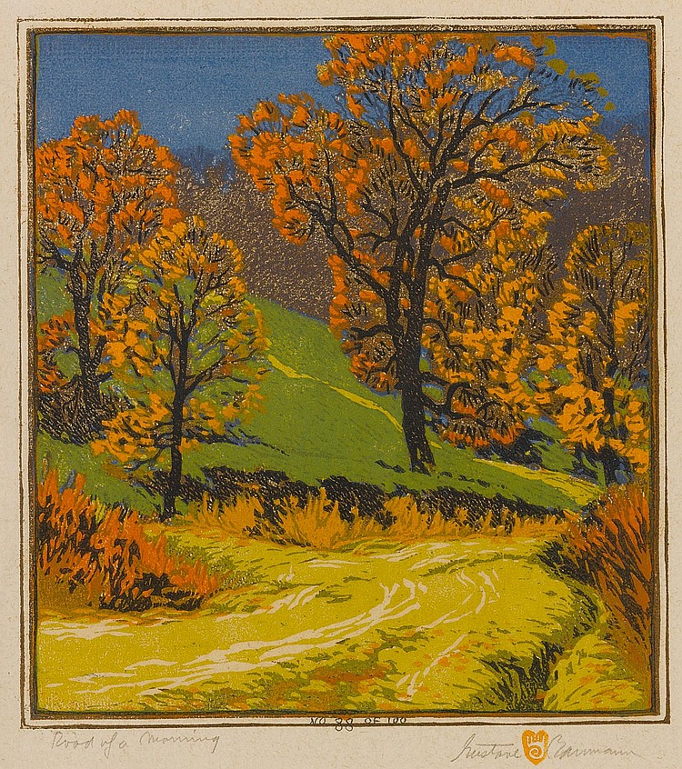 GUSTAVE BAUMANN   Road of a Morning