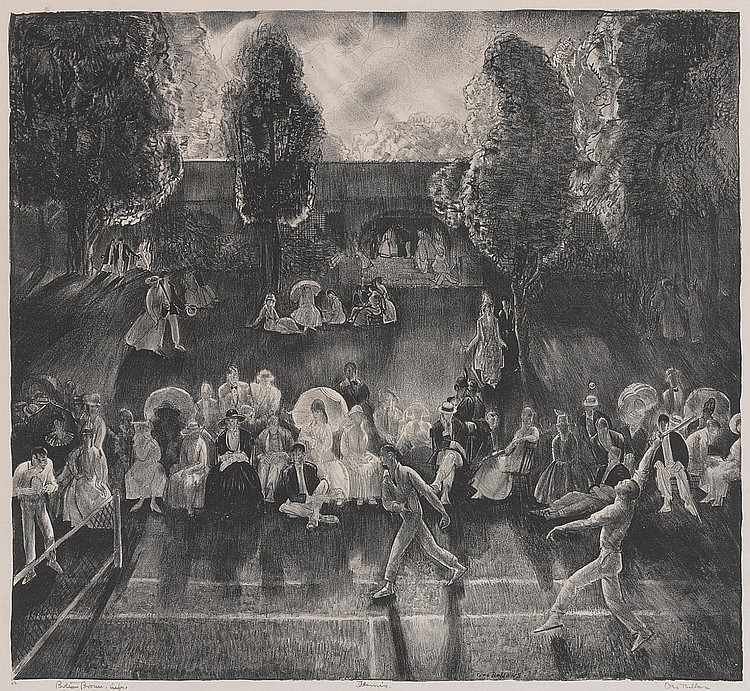 GEORGE BELLOWS | Tennis (M. 71)