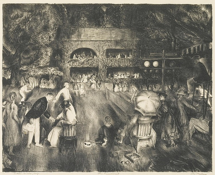 GEORGE BELLOWS | The Tournament (M. 72)