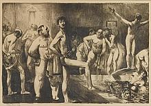 GEORGE BELLOWS | Business-Men's Bath (M. 145)