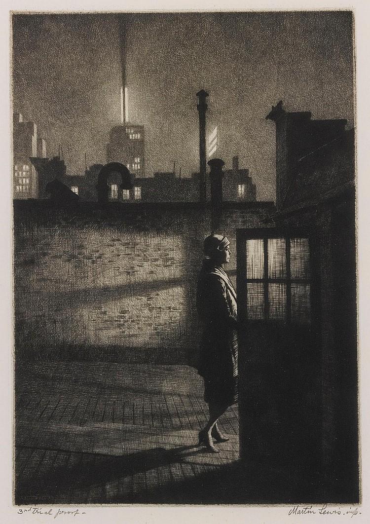 MARTIN LEWIS   Little Penthouse (M. 91)