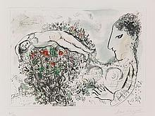 MARC CHAGALL | Small Nude (M. 634)