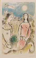MARC CHAGALL | Couple at Dusk (M. 972)