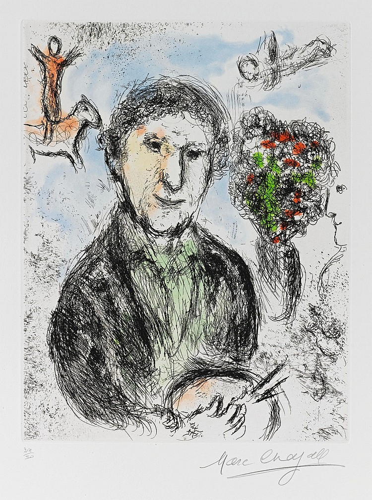 MARC CHAGALL | Songes (C. BK.12)