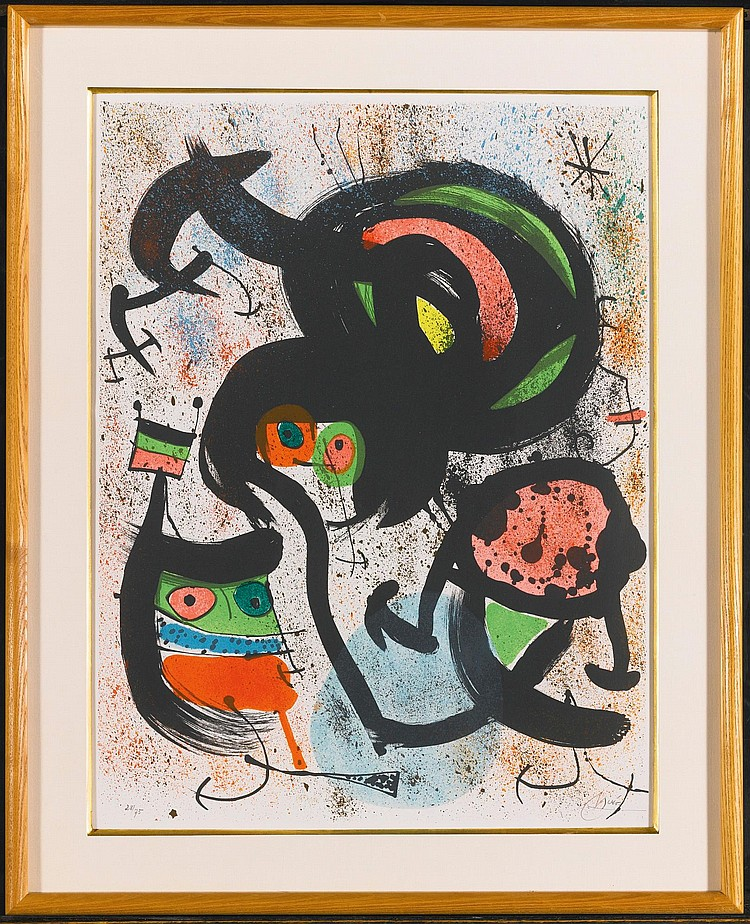 JOAN MIRÓ | The Seers (M. 661-666)