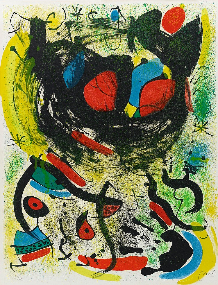 JOAN MIRÓ | The Seers: I (M. 661)