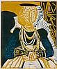 PABLO PICASSO | Portrait de jeune Fille, d'après Cranach le Jeune. II (B. 859; Ba. 1053)
