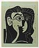 PABLO PICASSO | Portrait de Jacqueline de Face. I (Tête de Femme) (B. 1064; Ba. 1278)