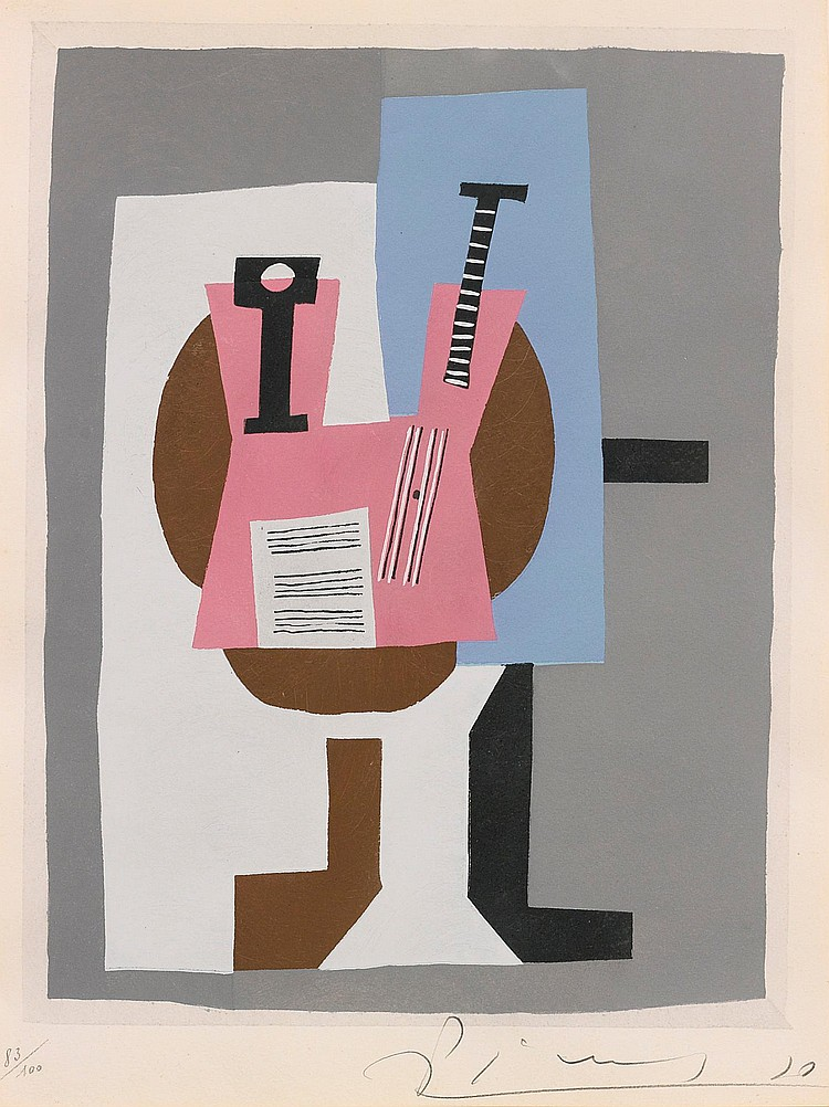 AFTER PABLO PICASSO | Guitare et Partition