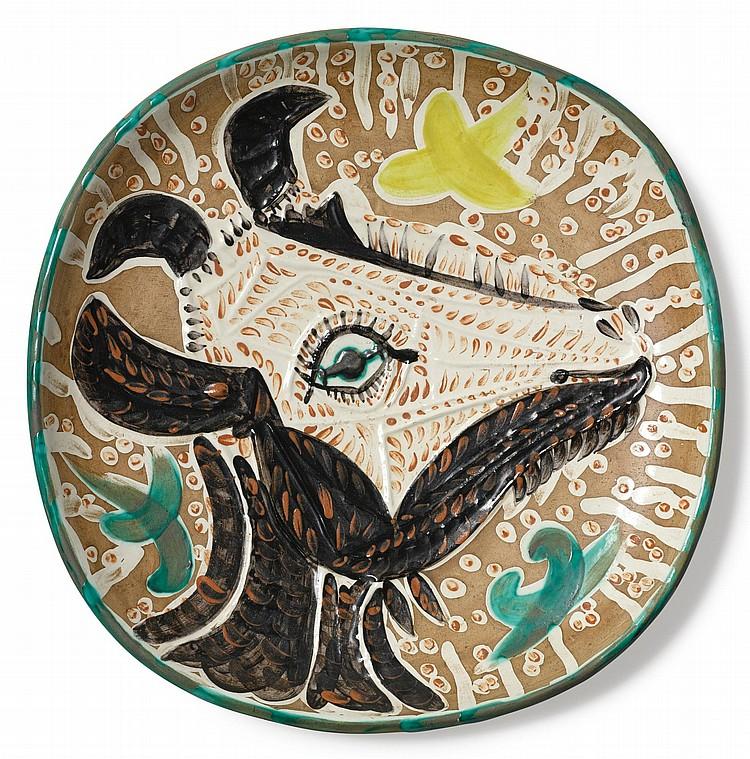PABLO PICASSO | Tête de chèvre de profil (A. R. 153)