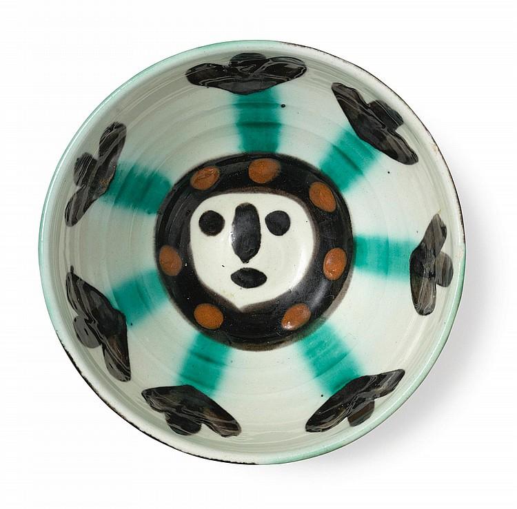PABLO PICASSO | Visage (A. R. 290): 3 ceramics