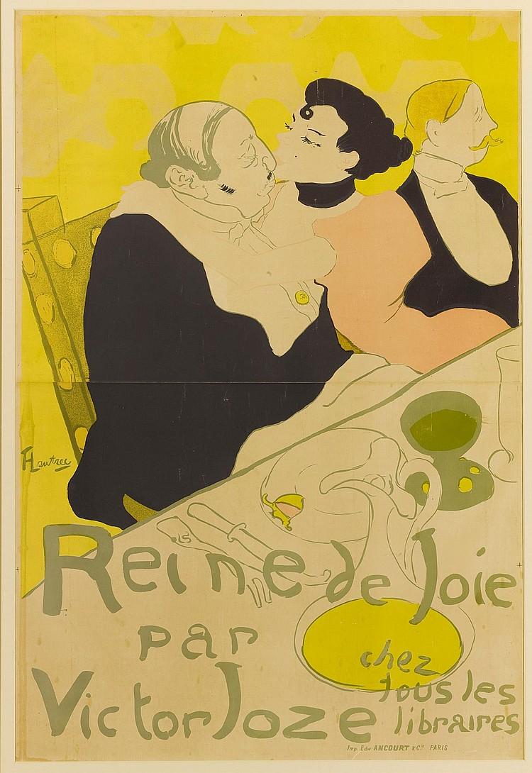 HENRI DE TOULOUSE-LAUTREC | Reine de Joie (D. 342;Adr. 5;W. P3)