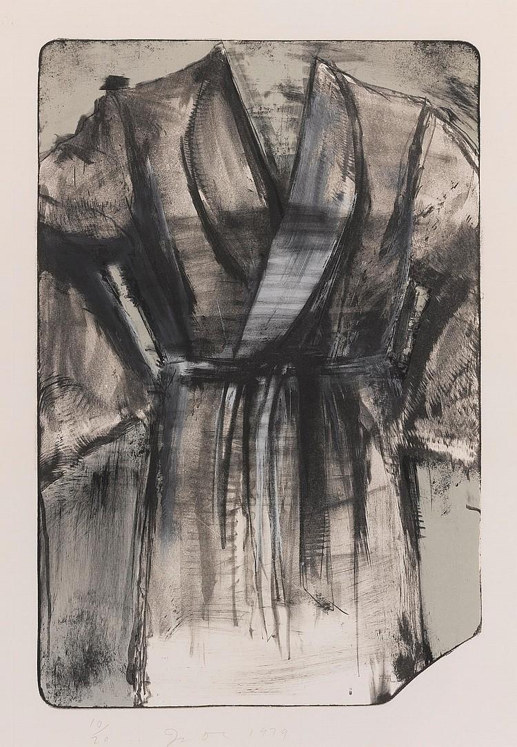 JIM DINE | A Robe Against the Desert Sky (D'Oench & Feinberg 57)