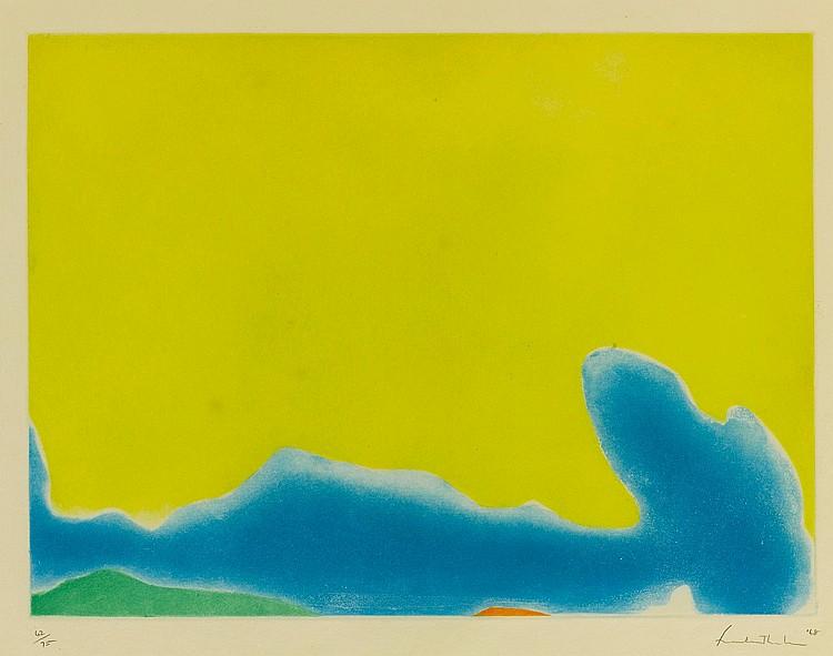 HELEN FRANKENTHALER | Yellow Span (Harrison 13)