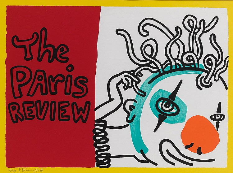 KEITH HARING | The Paris Review (Littmann p. 114)