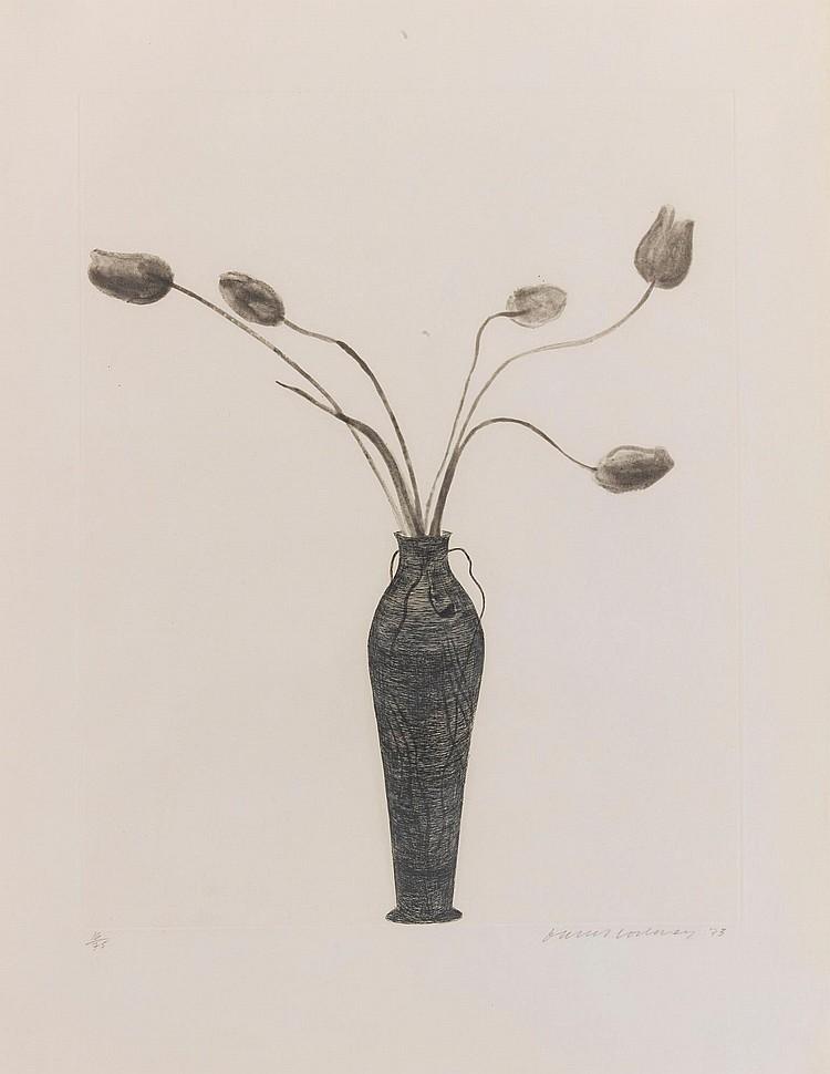 DAVID HOCKNEY | Tulips (Scottish Arts Council 158)