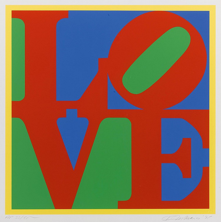 ROBERT INDIANA | Heliotherapy Love