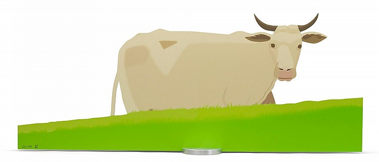 ALEX KATZ | Cow (small)
