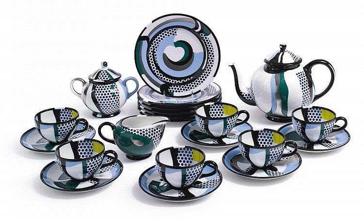 ROY LICHTENSTEIN | Tea Set