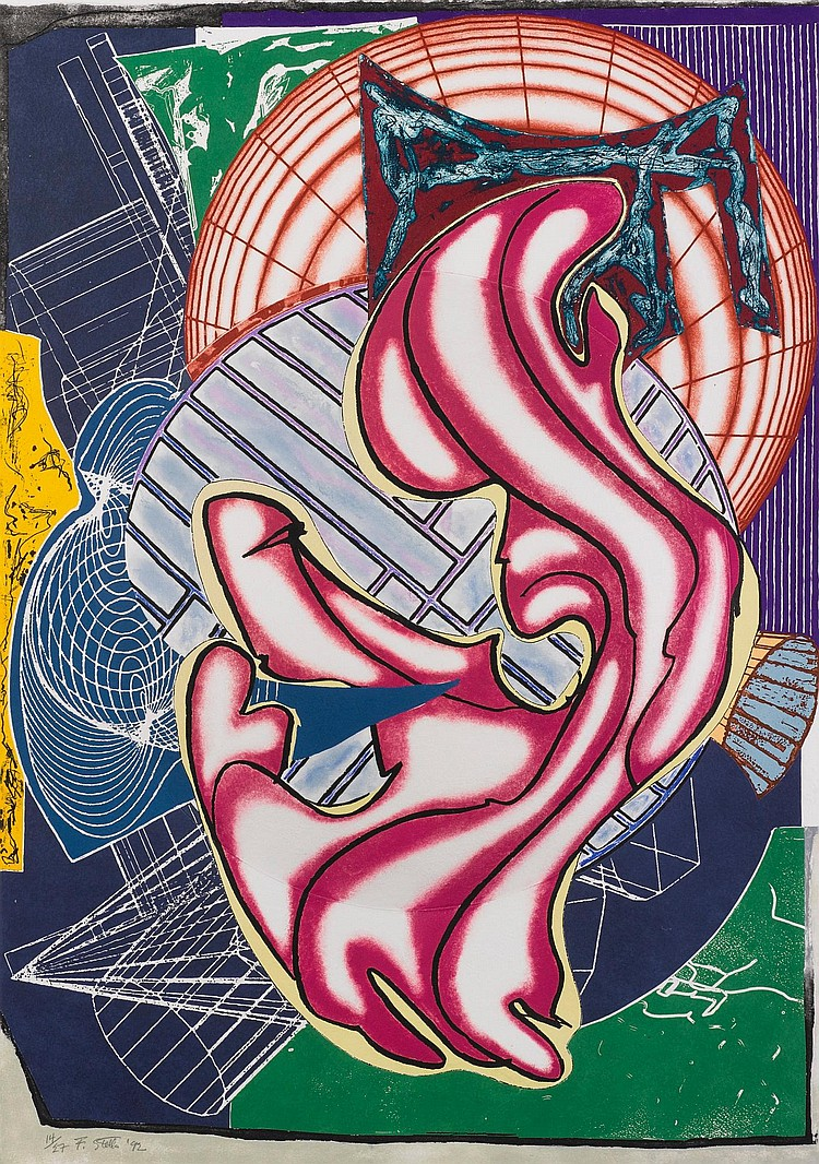 FRANK STELLA | Stubb & Flask Kill a Right Whale
