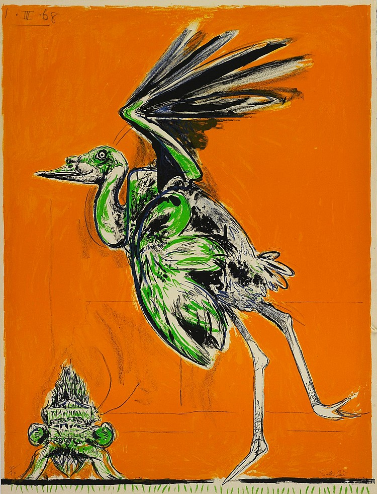 GRAHAM SUTHERLAND | A Bestiary and Some Correspondences (Tassi 81-106)