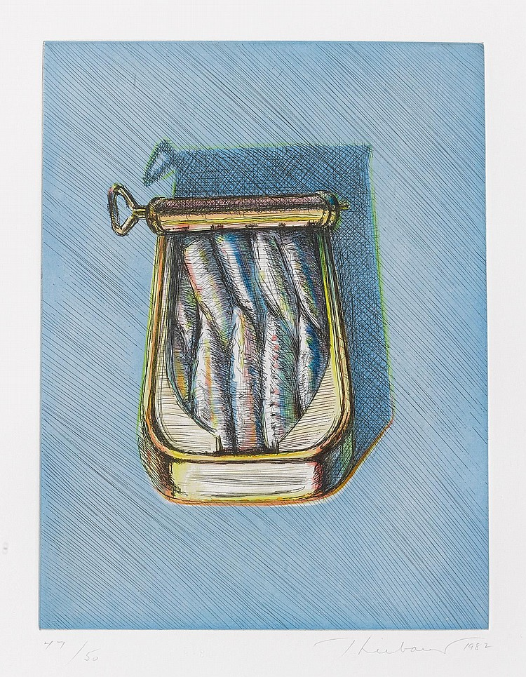 WAYNE THIEBAUD | Sardines