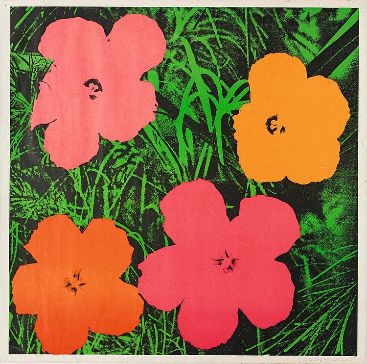 ANDY WARHOL | Flowers (F. & S. II.6)