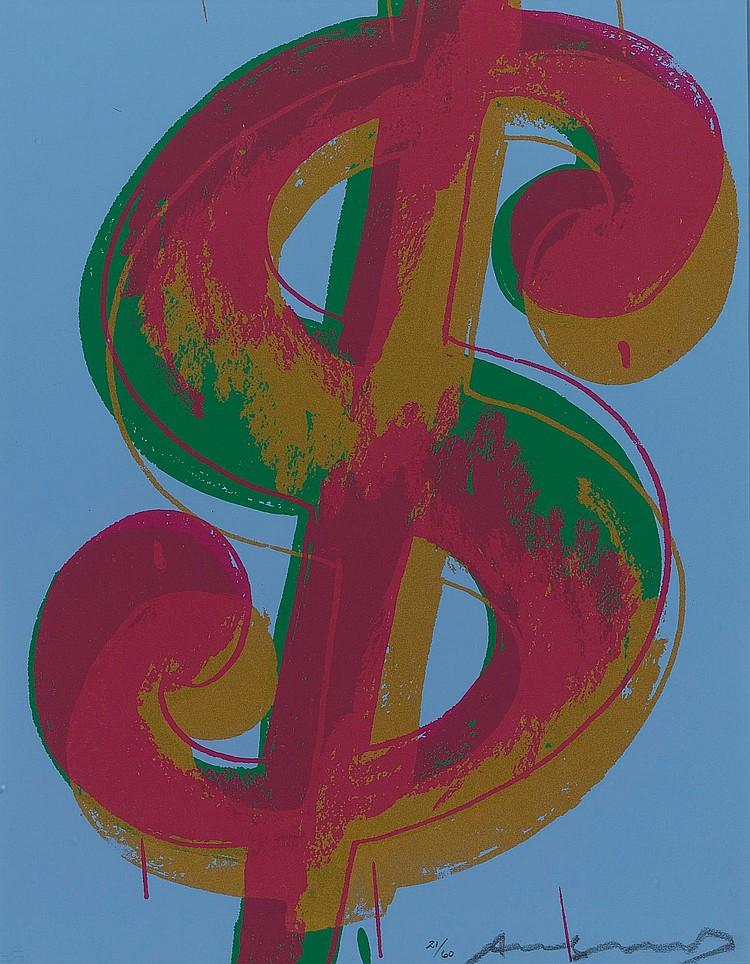 ANDY WARHOL | $ (1) (F. & S. II.276)