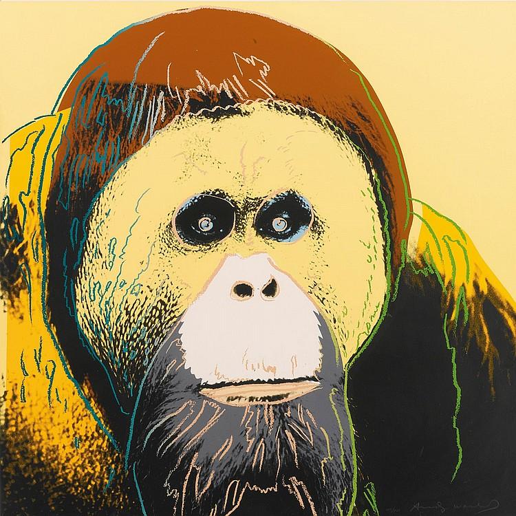 ANDY WARHOL | Orangutan (F. & S. II.299)