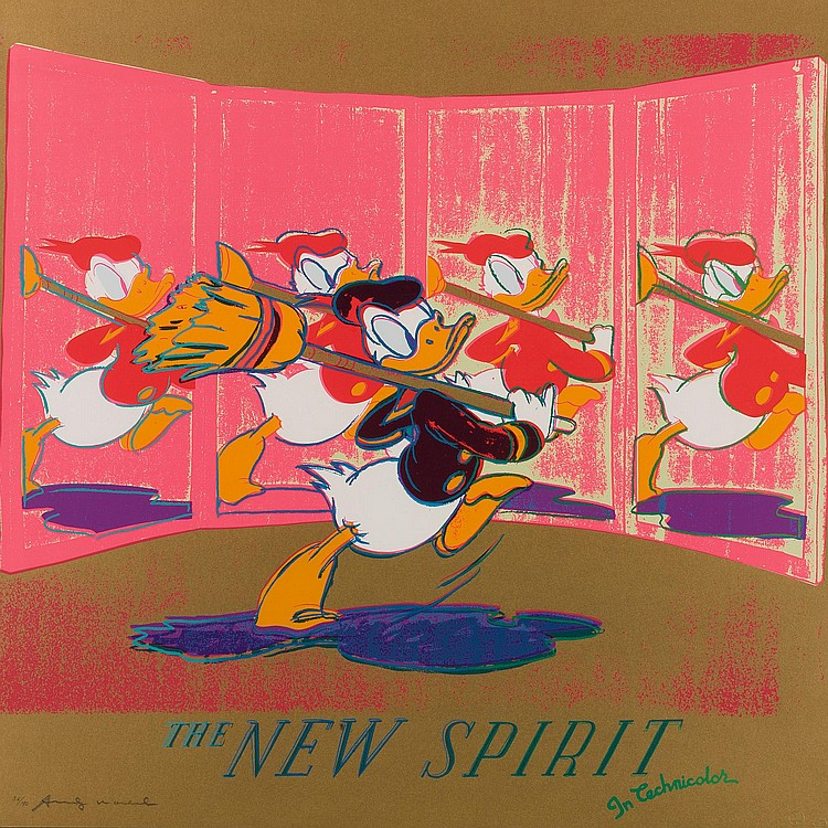 ANDY WARHOL | The New Spirit (Donald Duck) (F. & S. II.357)