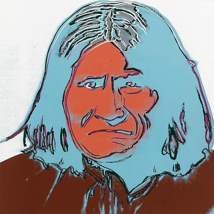 ANDY WARHOL | Geronimo (F. & S. IIB.384)
