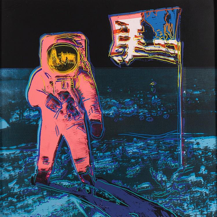 ANDY WARHOL | Moonwalk (F. & S. II.405)