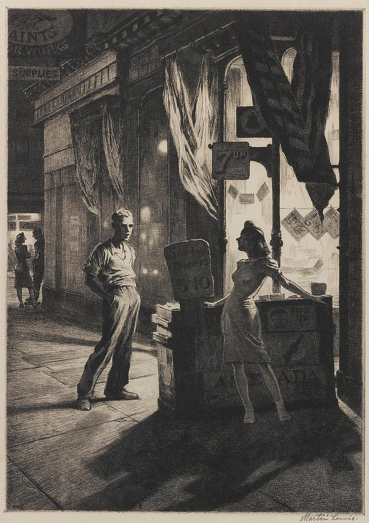 MARTIN LEWIS | Chance Meeting (McCarron 131)