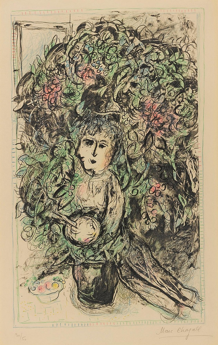 MARC CHAGALL | A Day in May (M. 654)