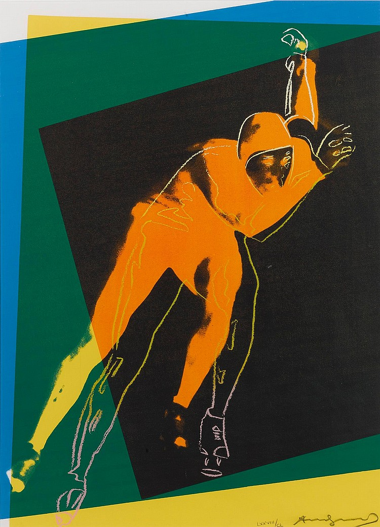 ANDY WARHOL | Speed Skater (F. & S. II.303)