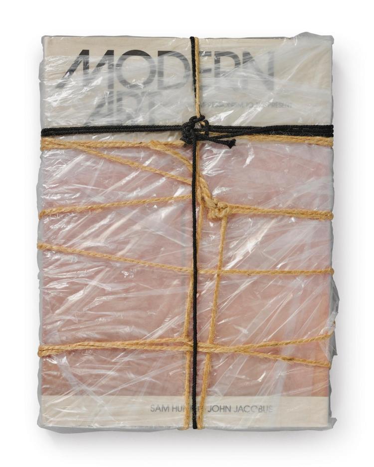 CHRISTO | WrappedBook <em>Modern Art</em>(Schellmann 95)