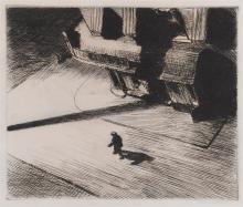 EDWARD HOPPER | Night Shadows (L. 82)