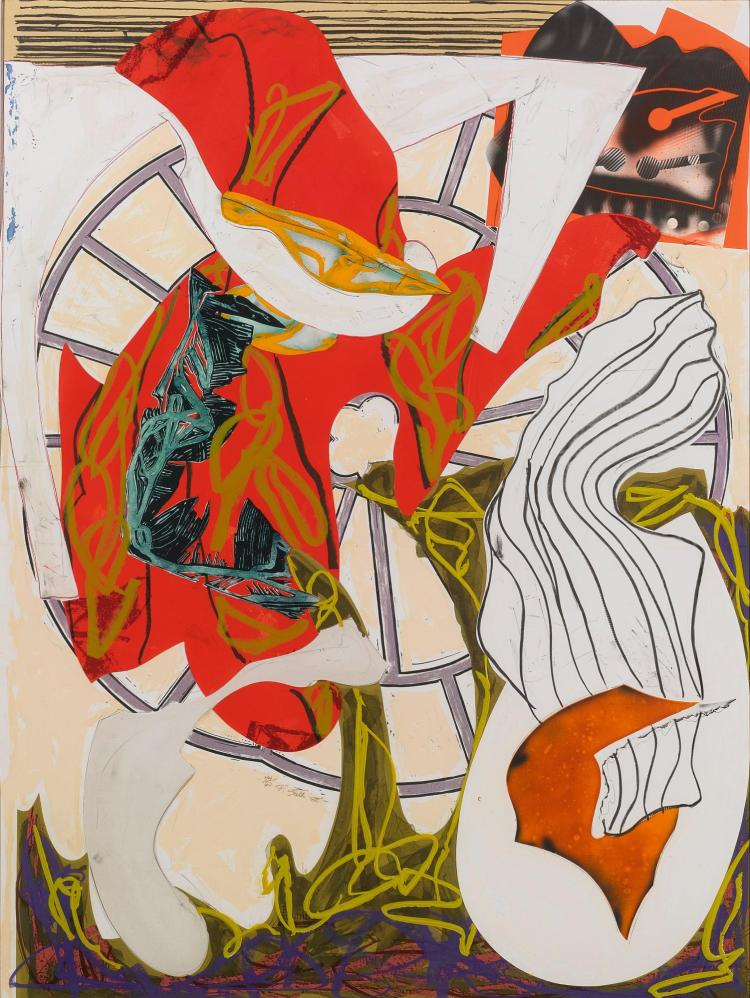 FRANK STELLA | A Squeeze of the Hand