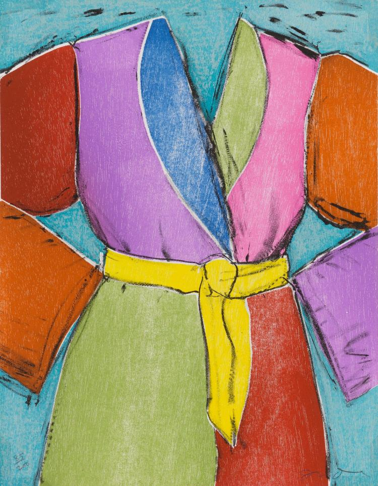 JIM DINE | The Yellow Belt and The Bather