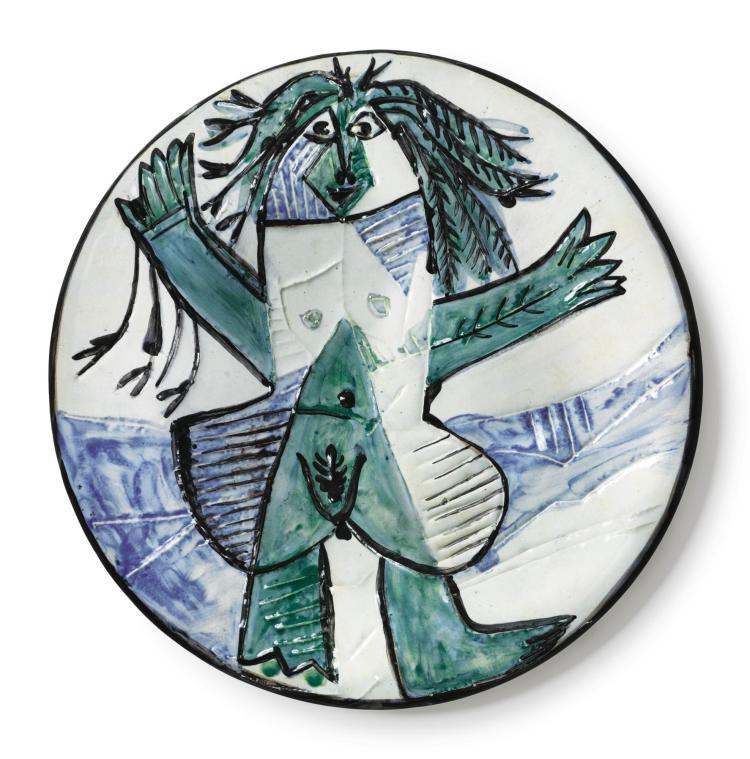 PABLO PICASSO | Femme échevelée(A. R. 509)